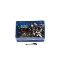 Eurostil,caja 120 pinzas medianas ref1655