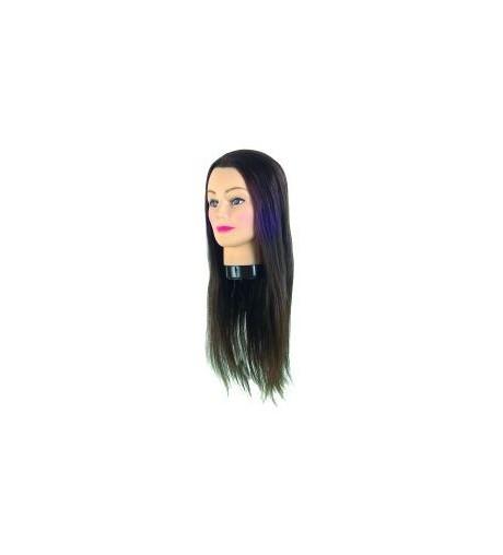 Eurostil, cabeza maniqui pelo natural largo