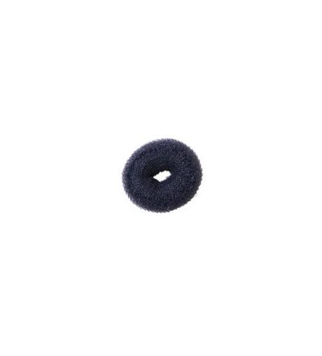 Eurostil,relleno moño circular negro