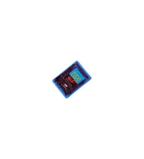 Eurostil,caja 150 clips largo negro