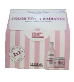 loreal, pack vitamino color