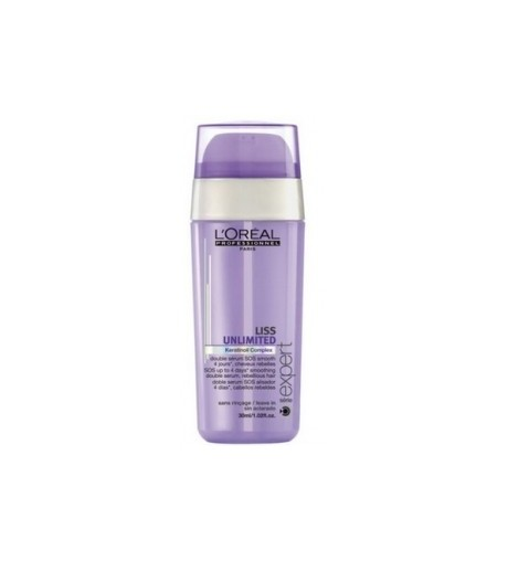 Loreal, doble serum SOS alisador de 30ml