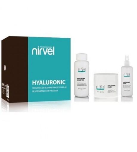 Nirvel, pack Hyaluronic de rejuvenecimiento capilar
