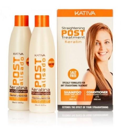 kativa,pack Post Alisado Brasileño