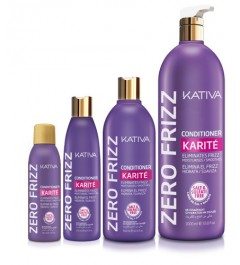 kativa,Zero frizz ,conditioner karite