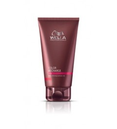 wella, care recharge -acondicionador cabellos rubios 250ml