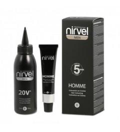 Nirvel ,Coloración Homme 5 minutos