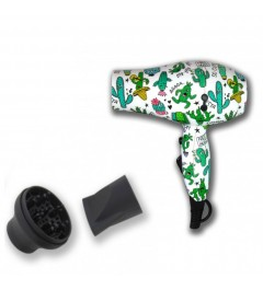LIM HAIR ,secador mini WM 2,0, decorado cactus